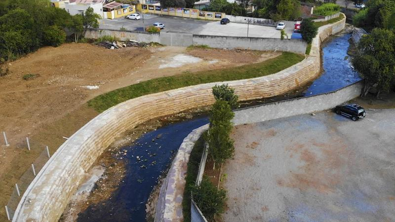 Conclusão da obra Rio Bacacheri Mirin. Foto: Isabella Mayer/SMCS