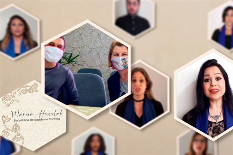 Coro da Camerata lança vídeos em homenagem a profissionais da saúde.