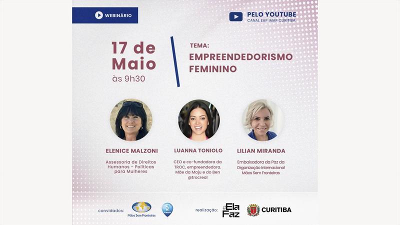Empreendedorismo feminino no centro do debate.