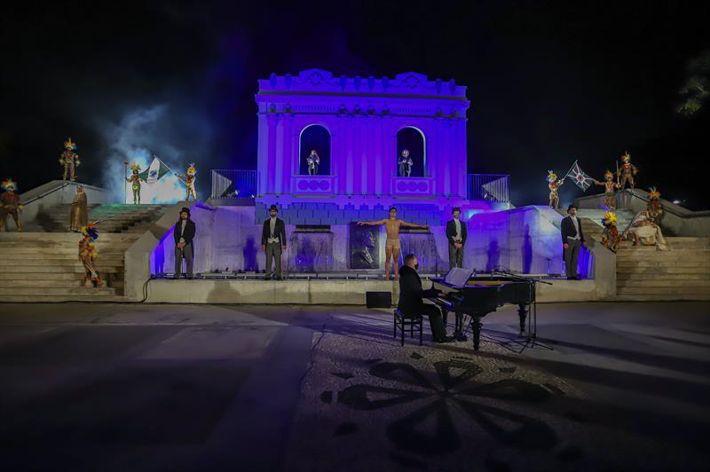 Inauguração do Memorial Paranista com obras de vários artistas paranaenses, no Parque São Lourenço - Curitiba, 14/05/2021 - Foto: Daniel Castellano / SMCS