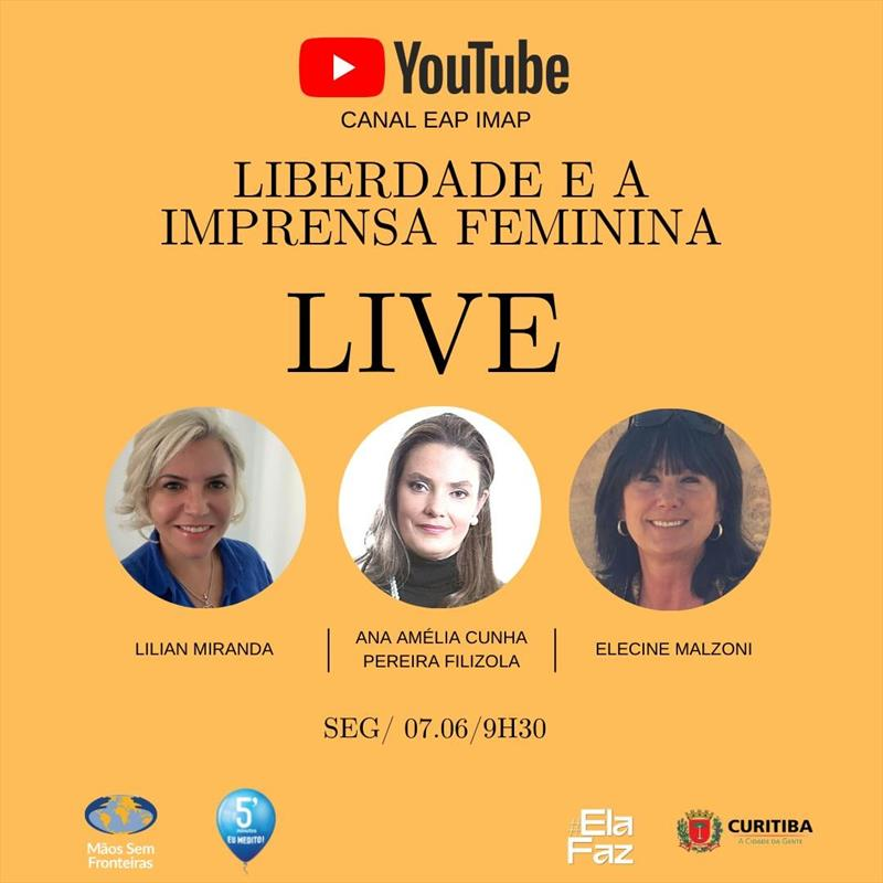 Live Liberdade e a Imprensa Feminina.