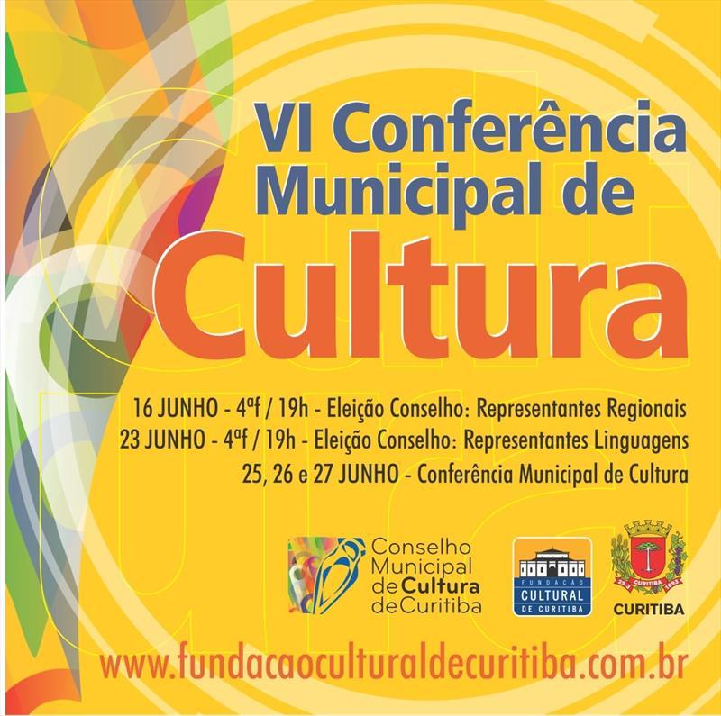 A Fundação Cultural de Curitiba (FCC) se prepara para realizar a 6.ª Conferência Municipal de Cultura.