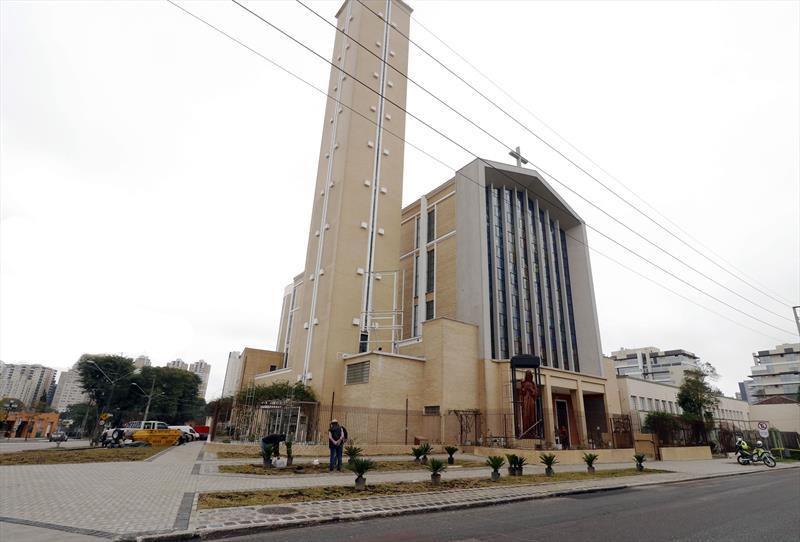 Santuário Sagrado Coração de Jesus.  Curitiba, 10/06/2021. Foto: Lucilia Guimarães/SMCS