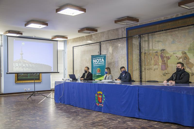 32º sorteio do programa Nota Curitibana. Curitiba, 29/06/2021. Foto: Pedro Ribas/SMCS