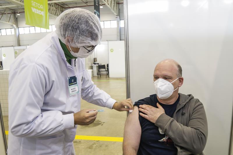Vacina contra a Covid-19.  Foto: Pedro Ribas/SMCS