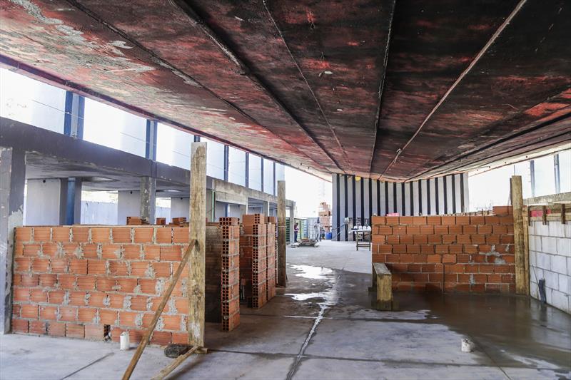 Obras de construção do Armazém da Família Capanema. Curitiba, 19/08/2021. Foto: Pedro Ribas/SMCS