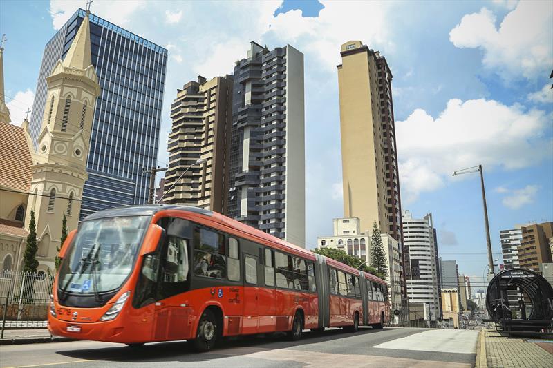Urbs reforça linhas para concurso do Banco do Brasil no domingo. Foto: Luiz Costa/SMCS