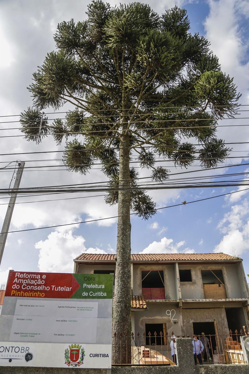 Obras de reforma e ampliação do Conselho Tutelar do Pinheirinho. Curitiba, 13/10/2021. Foto: Pedro Ribas/SMCS