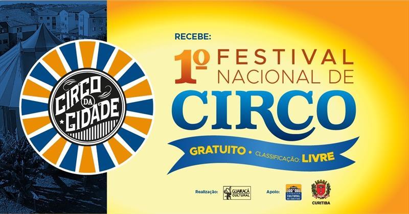Festival Nacional de Circo reúne espetáculos de cinco cias em Curitiba.