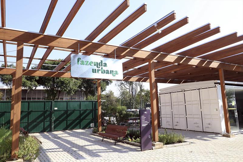 """Fazenda Urbana terá visita e curso sobre """"jardim comestível"""". Foto: Lucilia Guimarães/SMCS"""