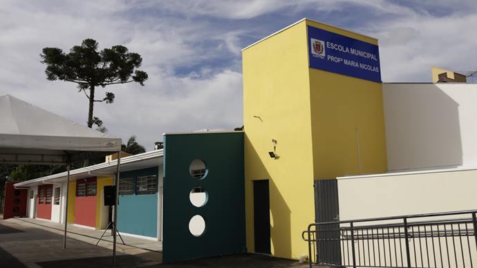 Novos estudantes podem ingressar na rede de ensino curitibana a partir de 3 de fevereiro. Foto: Luiz Costa/SMCS