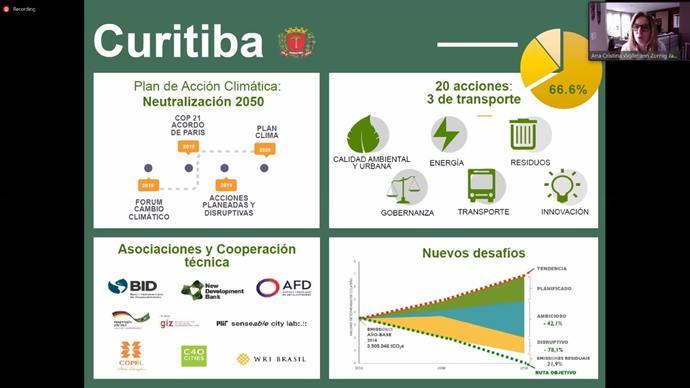 Os projetos curitibanos foram expostos pela assessora de Investimentos do Instituto de Pesquisa e Planejamento Urbano de Curitiba (Ippuc), Ana Cristina Jayme.
