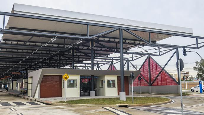 Terminal do Tatuquara. Curitiba, 28/05/2021. Foto: Pedro Ribas/SMCS