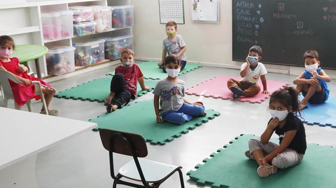 Prefeitura aumenta em 11,26% os valores repassados aos Centros de Educação Infantil. Foto: Lucilia Guimarães/SMCS