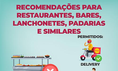 Recomendações para restaurantes