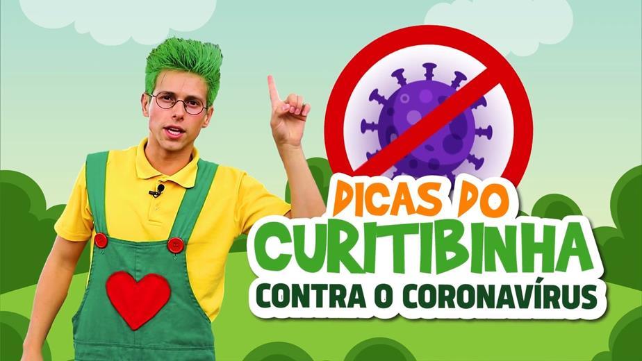 Dicas do Curitibinha contra o coronavírus