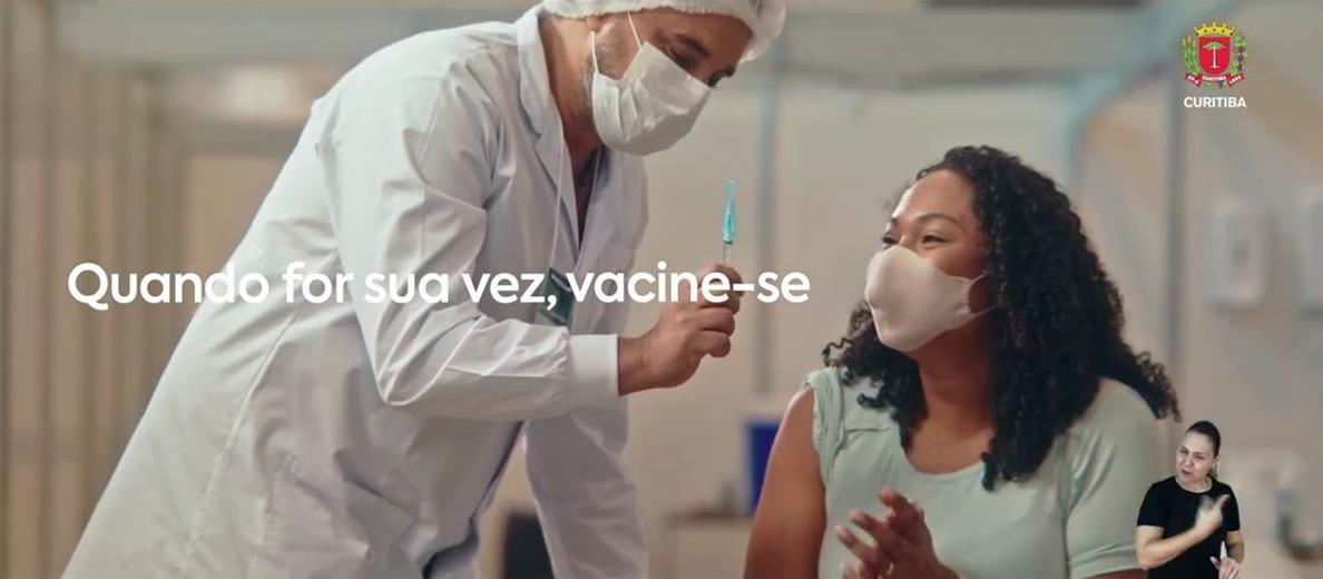 Mesmo vacinado, continue se cuidando